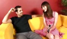 You must check out this amazing copulation including man and his cute gf